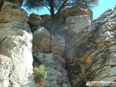 Sierra de los Porrones - Ruta de las Cabras; iniciacion senderismo rutas montaña cerca madrid